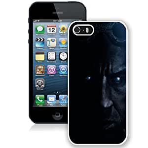 NEW Unique Custom Designed iPhone 5S Phone Case With Vin Diesel Chronicles Of Riddick_White Phone Case