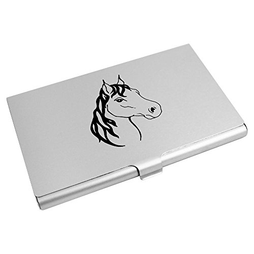 Card Business Card 'Horse's Credit CH00001197 Holder Wallet Azeeda Face' TnSYHAxA