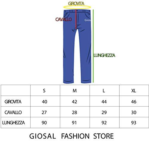 Costine Tasca Uomo Blu America Pantalone Velluto Giosal Cavallo Cinta Basso wBXPRq7