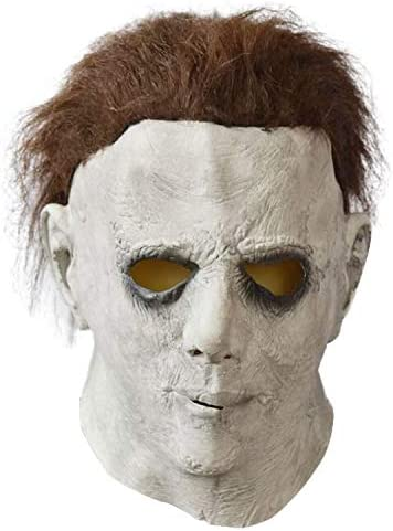 Michael Myers Mask Kids Scary Halloween Costume Fancy Dress