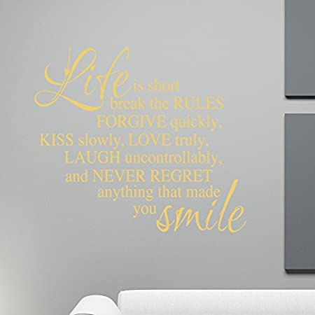 Life is short inspirational words quotes words amazon life is short inspirational words quotes words reheart Images