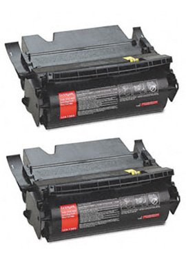 Clearprint 12A7365 Compatible 2-pack of Black Toner Cartridges for Lexmark Optra T632, T632n, T632dn, T632tn, T632dtn, T632dtnf, T634, T634n, T634tn, T634dn, T634dtn, T634dtnf printers