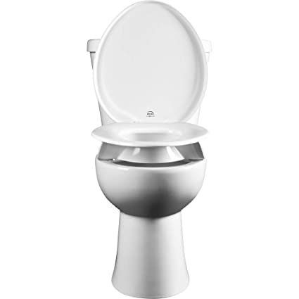 Miraculous Bemis Independence 7Yr85300Tss 000 Closed Front Elevated Raised Toilet Seat With 3 Lift Clean Shield Round White Uwap Interior Chair Design Uwaporg