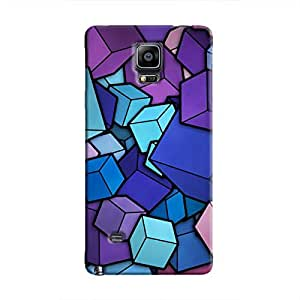 Cover It Up - Cube Heap Galaxy Note 4Hard Case