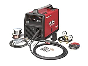 MIG Welder, Handheld, 120VAC from Lincoln Electric