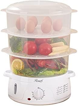 Rosewill 9.5-Quart 3-Tier Food Steamer