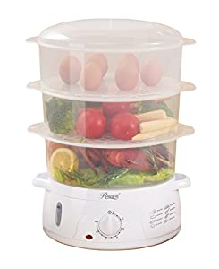 Rosewill BPA-free – Nice little steamer that holds a lot of food!