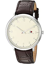 Tommy Hilfiger Mens SOPHISTICATED SPORT Quartz Stainless Steel and Leather Casual Watch, Color:Brown (Model...