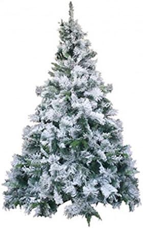 Albero Di Natale 500 Cm.New Albero Di Natale 150 Cm Innevato Bianco Folto 500 Rami Norway Deluxe New Amazon It Casa E Cucina