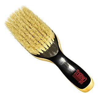 Torino Pro Soft Wave brush By Brush King - #1580- Duet Collection - 9 row extra long bristles- 360 Wave brushes