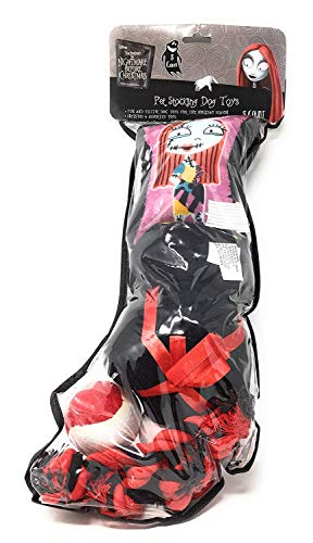 KCare The Nightmare Before Christmas Sally Dog Toy Stocking – Includes 8 Toys Review