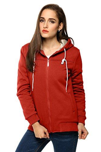 Fanala Damen Sport Oberbekleidung Jacke Mantel Trainingsjacke Sweatshirt Hoodies (Jacke Damen)