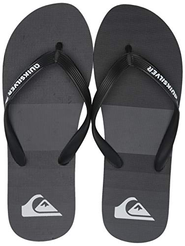 Quiksilver Men's Molokai Tijuana Sandal Grey/Black, 9(42) M US