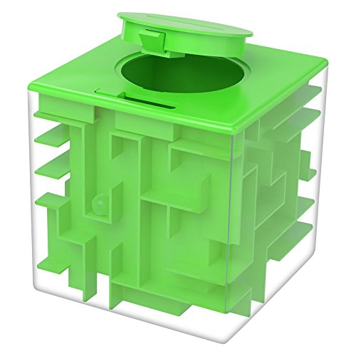 Money Maze Puzzle Box, Twister.CK Maze Puzzles for Money, Fun Birthday Christmas Gift Ideas for Kids and Adult