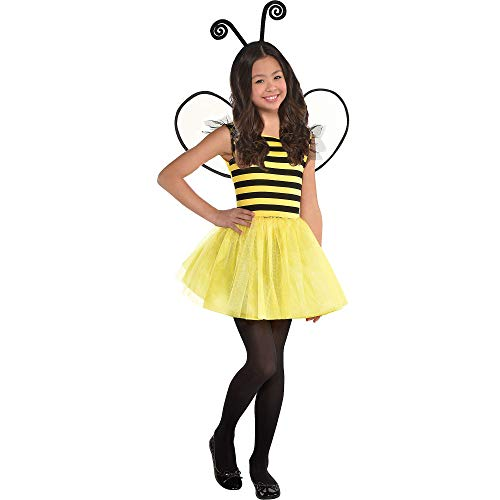 Suit Yourself Buzzy Bee Halloween Costume for Girls, Small, with Accessories