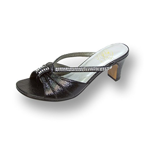FLORAL Chrissy Sandals Measurement Available product image