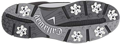 Pictures of Callaway Men's LaJolla Golf Shoe Black/ Black/White 7
