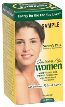 Nature's Plus - Source of Life Women's Multi-Vitamin, 120 (Lifes Essentials Plus Multivitamin)