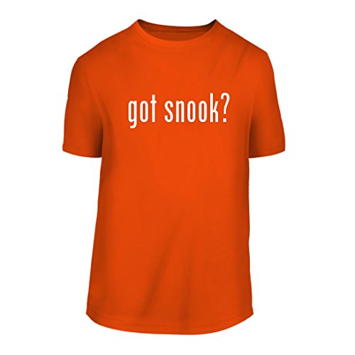 got snook? - A Nice Men's Short Sleeve T-Shirt Shirt, Orange, Large (Screen Tee Snook)