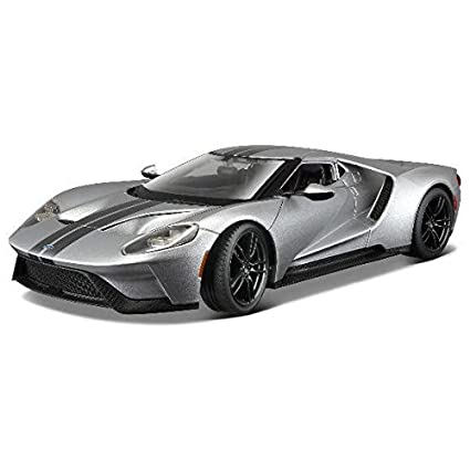 Buy Maisto  Ford Gt   Greycast Scale Model Car Online At Low Prices In India Amazon In