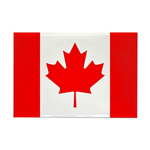 CafePress Canadian Flag Rectangle Magnet, 2