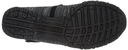 Ripples Shoes Noir Black Bikers Relaxed Fit Skechers xapqwCPp