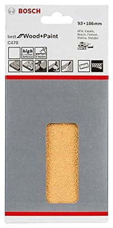 125 mm, 320 Bosch 2 608 605 074 Set de 5 hojas de lija
