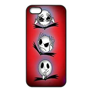 [MEIYING DIY CASE] For Apple Iphone 5 5S Cases -The Nightmare Before Christmas Movie-IKAI0447915