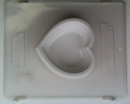 Large heart pour box V141 Valentine's Day chocolate candy mold (Large Chocolate Heart Box Mold compare prices)
