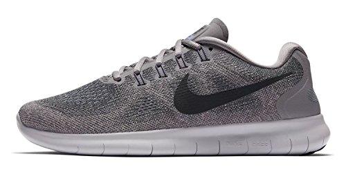 Nike Damen Laufschuh Free Run 2017 Grau (Gunsmoke/Anthracite- 007)