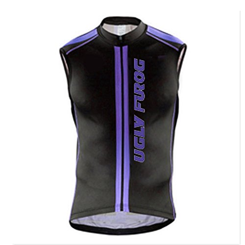 Uglyfrog 2017 Newest Mens Cycling Vest Sleeveless Bike Clothes Sports Wear Outdoor Winter with Fleece Bicycle Polyester Top WMJ7