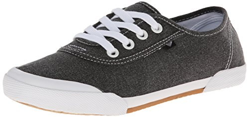 (Roxy Women's Santa Cruz Shoes, Black, 9 M US)
