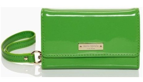 Kate Spade York Iphone 5 Solid Wristlet Green
