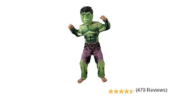 Rubies Marvel - I-888911s - Disfraces clásicos para niños - Hulk ...