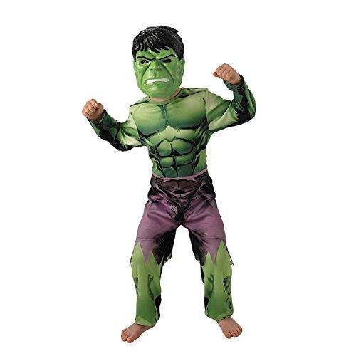 Rubie's Official Marvel Avengers Assemble Deluxe Hulk To Captain America, Child ()
