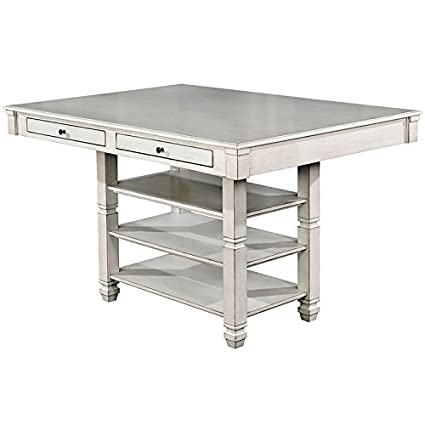 Furniture Of America Sonora Counter Height Extendable Dining Table