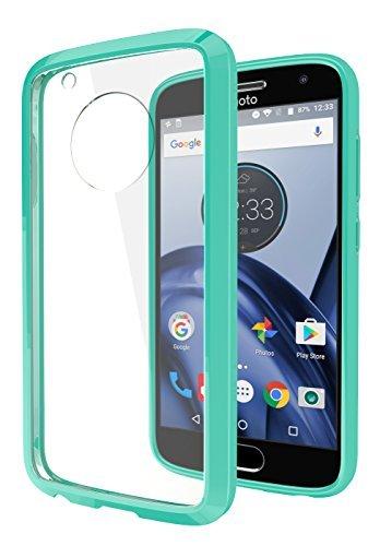 (Moto G5 Plus Case, Cimo [Hybrid] Premium Clear Back Panel + TPU Bumper Case for Motorola Moto G5 Plus (2017) -)