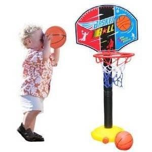 Amazon.com: Ajustar niños tablero Set canasta de baloncesto ...