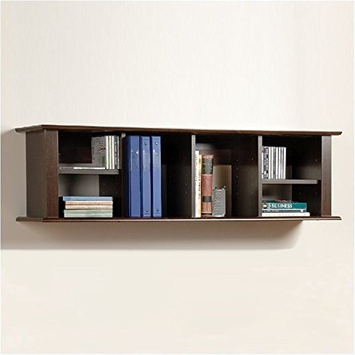 Bowery Hill Wall Hanging Hutch in Espresso