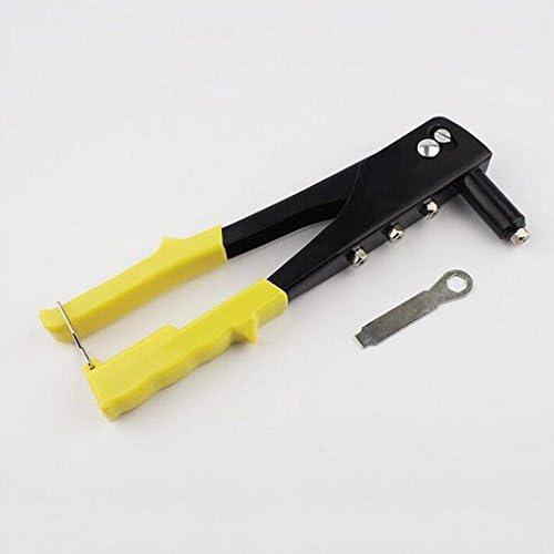 リベットガン ハンドリベッター 4ヘッド ヘビーデューティ 修理工具 高炭素鋼