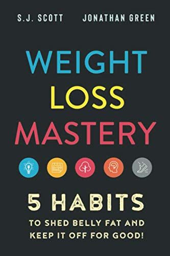 Weight Loss Mastery: 5 Habits to Shed Belly Fat and Keep it Off for Good Front Cover
