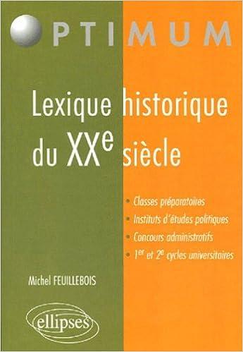 Lexique historique du XXe siècle pdf ebook