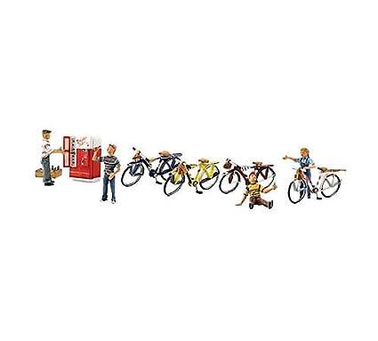 Amazon.com: Woodland Scenics o bicicleta Buddies wooa2752 ...