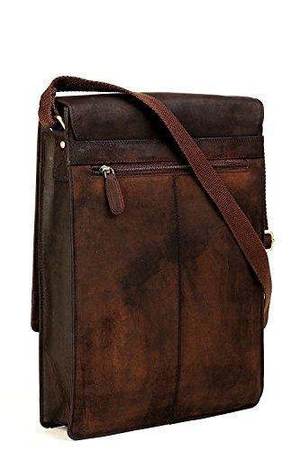 Buy buffalo hunter leather messenger bag for men