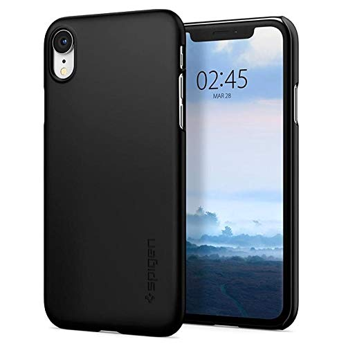 Spigen Thin Fit Designed for Apple iPhone XR Case (2018) - Black
