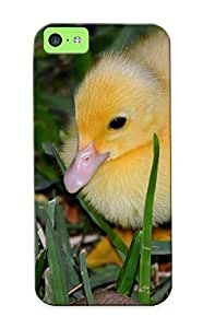 Inthebeauty Hot Tpye Birds Grass Ducks Duckling Baby Birds Case Cover For Iphone 5c For Christmas Day's Gifts