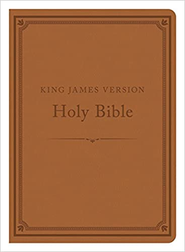 The KJV Compact Gift & Award Bible Reference Edition [Camel