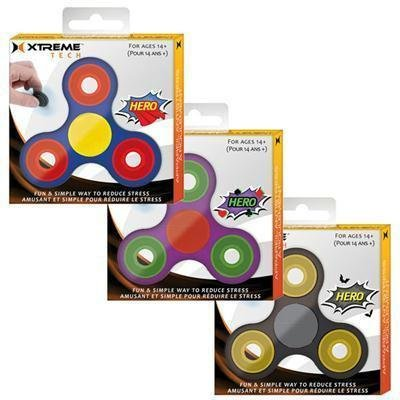 24pc Fidget spnr Hero pack by Xtreme Cables