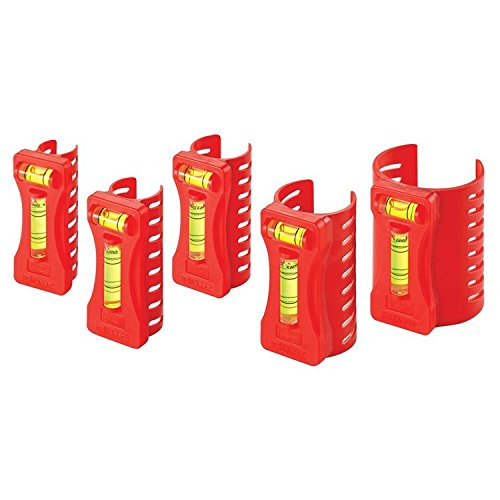 Kraft Tool SL409 Pipe Level (5 Piece Set) (1 Set of 5 per ()