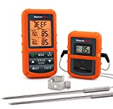 ThermoPro TP20 Wireless Remote Digital Cooking Food Meat Thermometer with Dual Probe for Smoker Grill BBQ Thermometer: more info